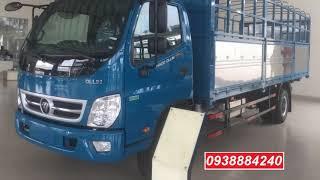 Xe tải Thaco Ollin 720 New Euro 4 máy Weichai tải 7,5 tấn mới nhất   Thaco Long An   0938884240