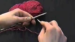 Вязание спицами. Урок 2.