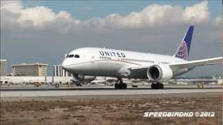 United Airlines Boeing 787-824 [N20904] FAA Proving Run to LAX