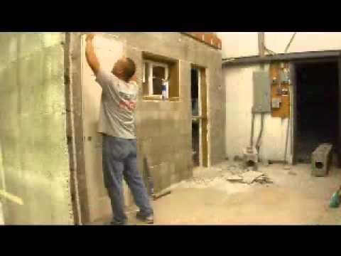 Hanging A Door In Apex Block Construction Icf Icfs