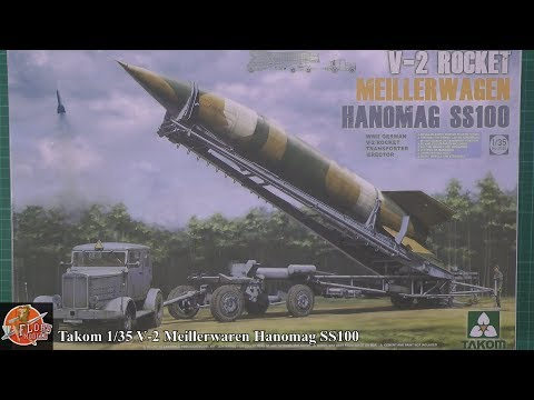 Takom 1/35 V-2 Rocket, Truck, trailer and pad review