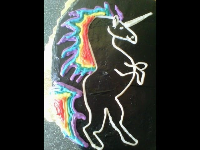 Macho Rainbow Unicorn