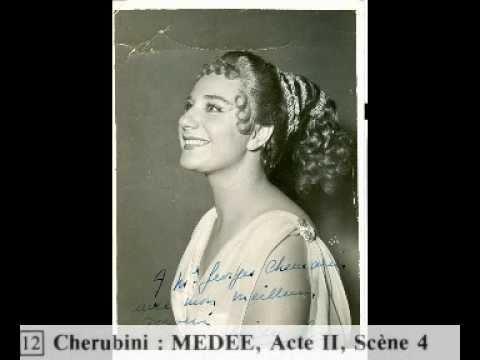 Rita GORR -Ah nos peines- Air de Neris - Médée-Cherubini