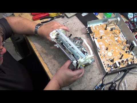 Panasonic PV V4535 VCR total tear down
