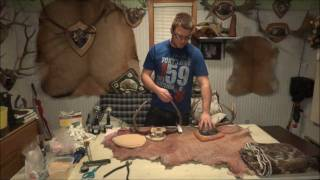 How-to Professionally Plaque Mount Deer Antlers - Pt 1 Of 2