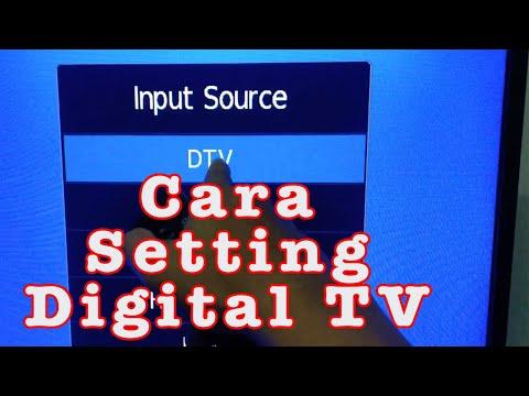 Pasang Antena Dan Cara Cari Siaran Tv Digital