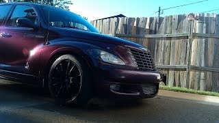PT Cruiser straight pipe exhaust clip