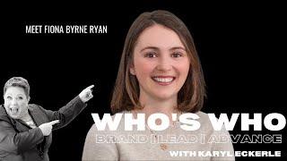 Who's Who w/Fiona Byrne Ryan