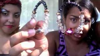DIY: How to make Basketball Wives Bling Hoops & SALE! Thumbnail
