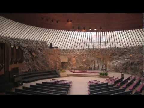 テンペリアウキオ教会/Temppeliaukion kirkko:ヘルシンキ