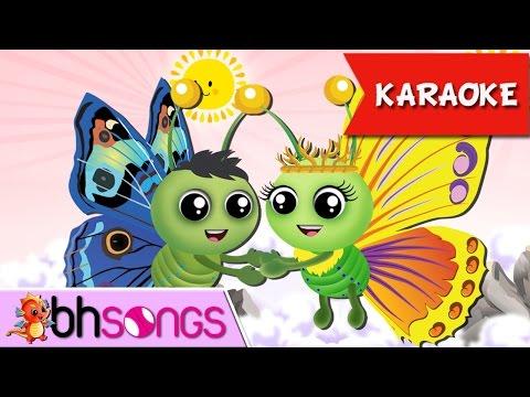 Fly Fly The Butterfly Karaoke | Nursery Rhymes TV [Karaoke 4K]