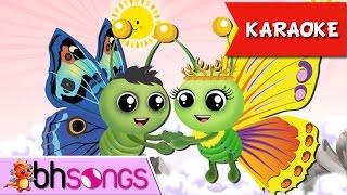 Video Fly Fly The Butterfly Karaoke   Nursery Rhymes TV [Karaoke 4K] download MP3, 3GP, MP4, WEBM, AVI, FLV Juni 2018