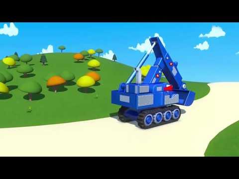 Carl el Camión Transformador: Salavando los carritos bebés en Auto City Dibujos animados para niños
