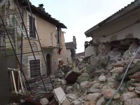 Terremoto L'Aquila - Poggio di Roio - 29-12-2009