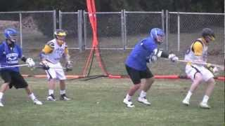 Matt Petrick Lacrosse Highlights-2013 Spring Part 1