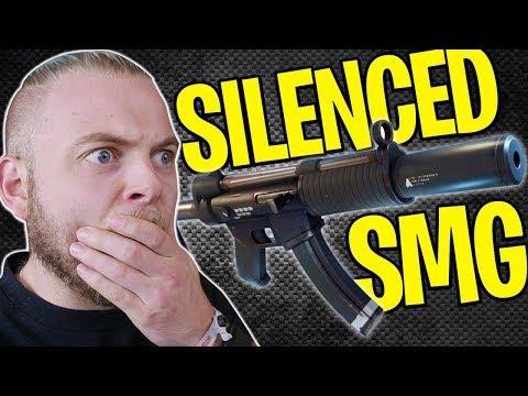 NEW SILENCED SMG GAMEPLAY!! - FORTNITE BATTLE ROYALE!! #7