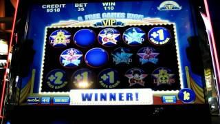 VIP Allstars Slot Machine Bonus Round 100x