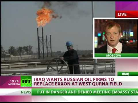 Iraq wants Exxon out, Russia in