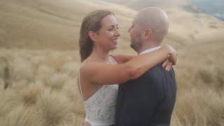 This is Douglas and Kathryn || Christchurch Port Hills || Cinematic wedding highlight film