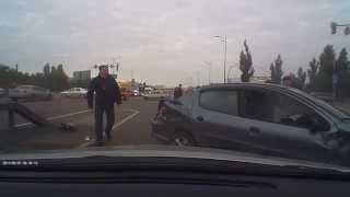 ДТП по дороге на работу