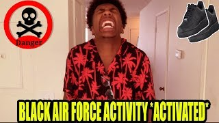 People With Black Air forces be like (Black Air Force Activity)