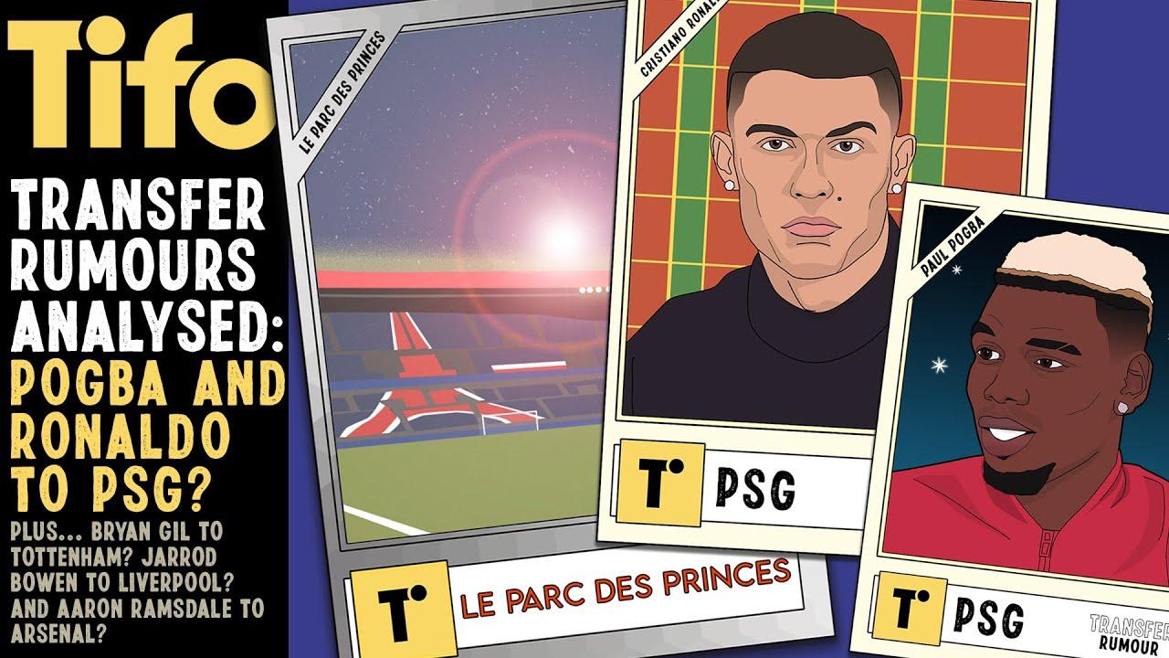 Ronaldo & Pogba to PSG??   Transfer Rumours Analysed