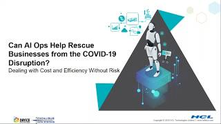 Can AIOps Help Rescue Businesses from the COVID-19 Disruption?