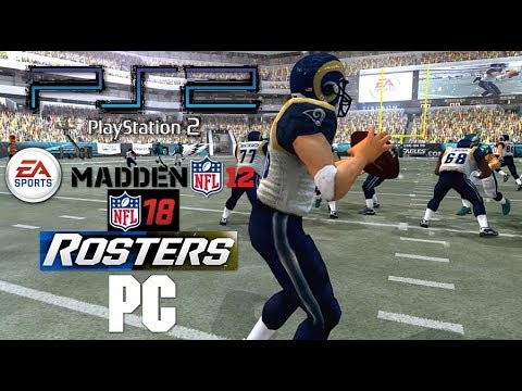 Ps2 Madden Nfl 12 W Nfl 18 Rosters Pc 60fps 1440p 169 Ps2 Pcsx2 Emu