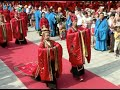 Six Pairs Participate in 3,000 year old Chinese Han style Wedding Ceremony