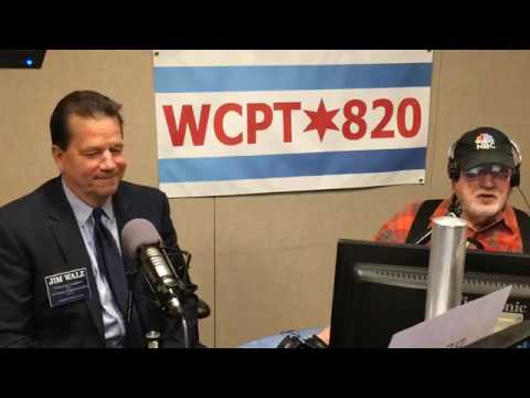 Jim Walz as a Guest of Dick Kay on WCPT Radio