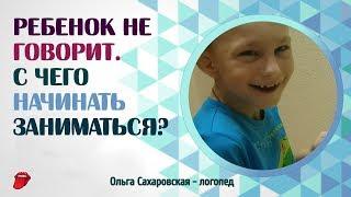 Ребенок не говорит ЗРР, ОНР, Алалия, Дизартрия.  С чего начинать заниматься? Для детей от 2,5 лет
