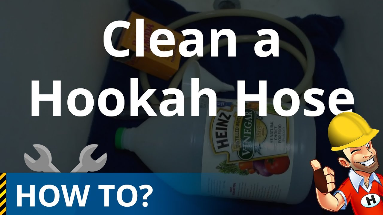Cleaning a Hookah (Shisha) Hose with Vinegar & Baking Soda