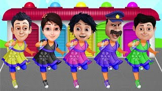 Download Video Shiva ANTV Transform into Dora the Explorer Learn Colors Preschool Education Kids & Toddlers MP3 3GP MP4