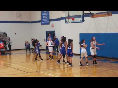 Abby Basketball @ Bosqueville High School