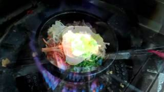 Cooking A Dol Sot Bibimbap