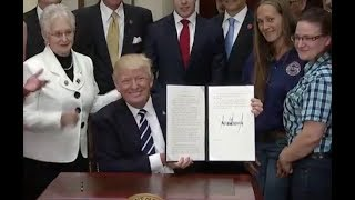 Trump Issues Apprenticeship Executive Order- Full Speech