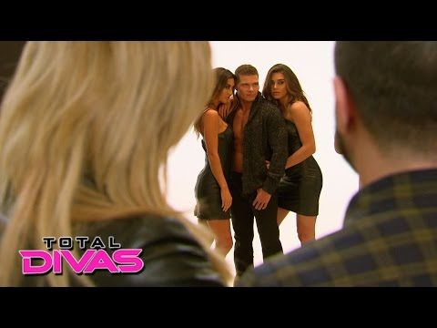 Natalya watches Tyson Kidd's modeling...