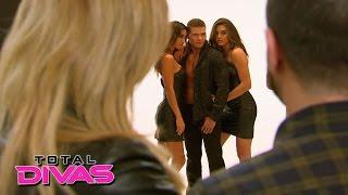Natalya watches Tyson Kidd's modeling photoshoot: Total Divas: March 1, 2015