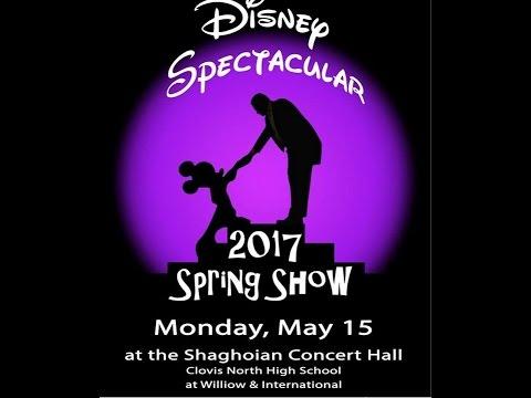 2017 Buchanan High School Choirs  Spring  Disney Spectacular