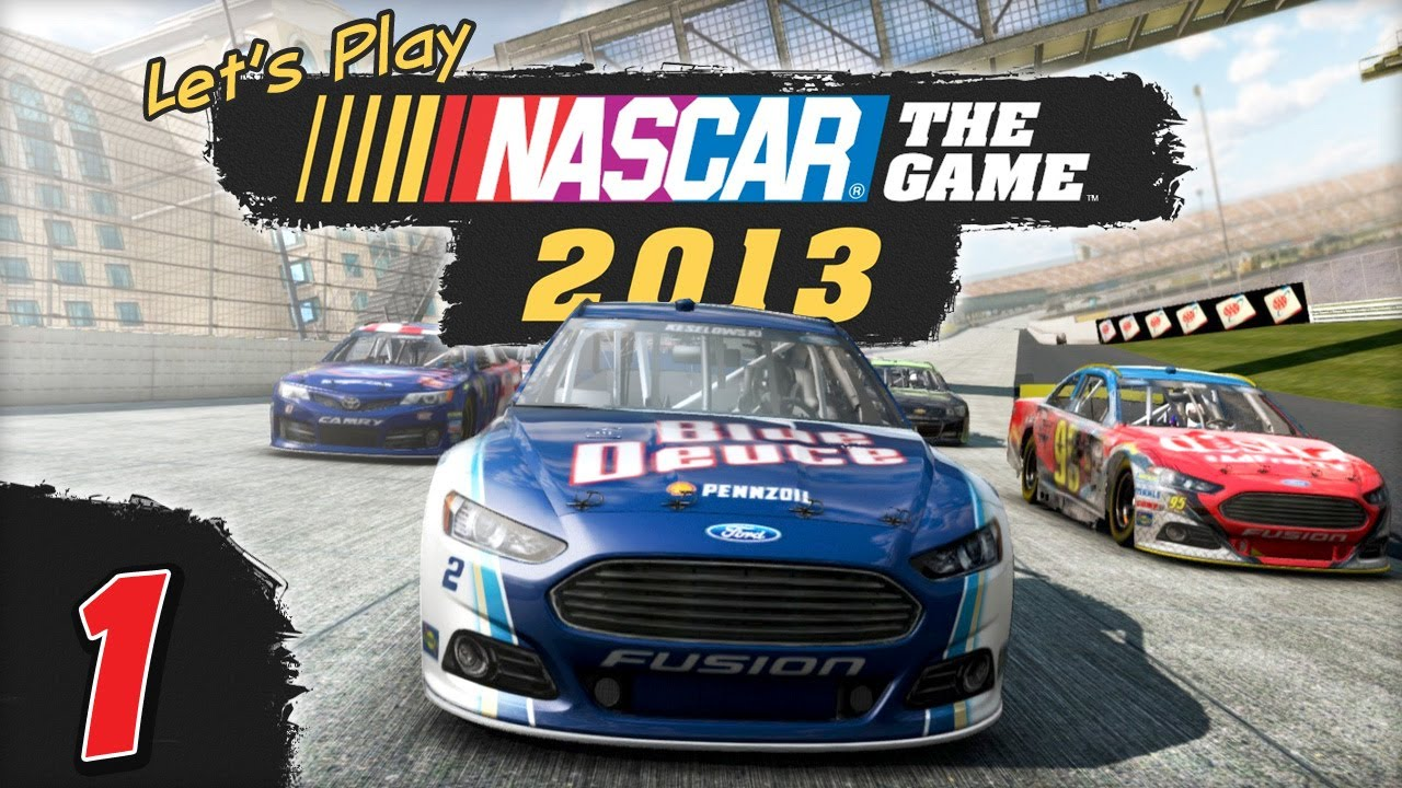 Let's Play NASCAR The Game: 2013 – Daytona 500