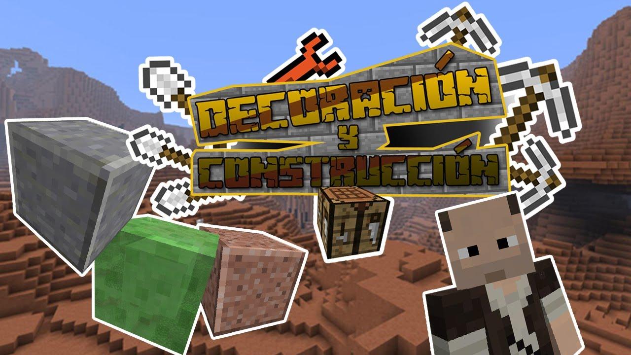 Decoraci n y construcci n nuevos bloques de minecraft 1 for Decoracion construccion