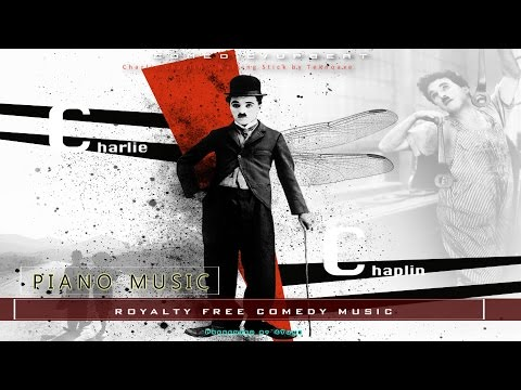 Upbeat Piano Comedy Music | Charlie Chaplin's Walking Stick