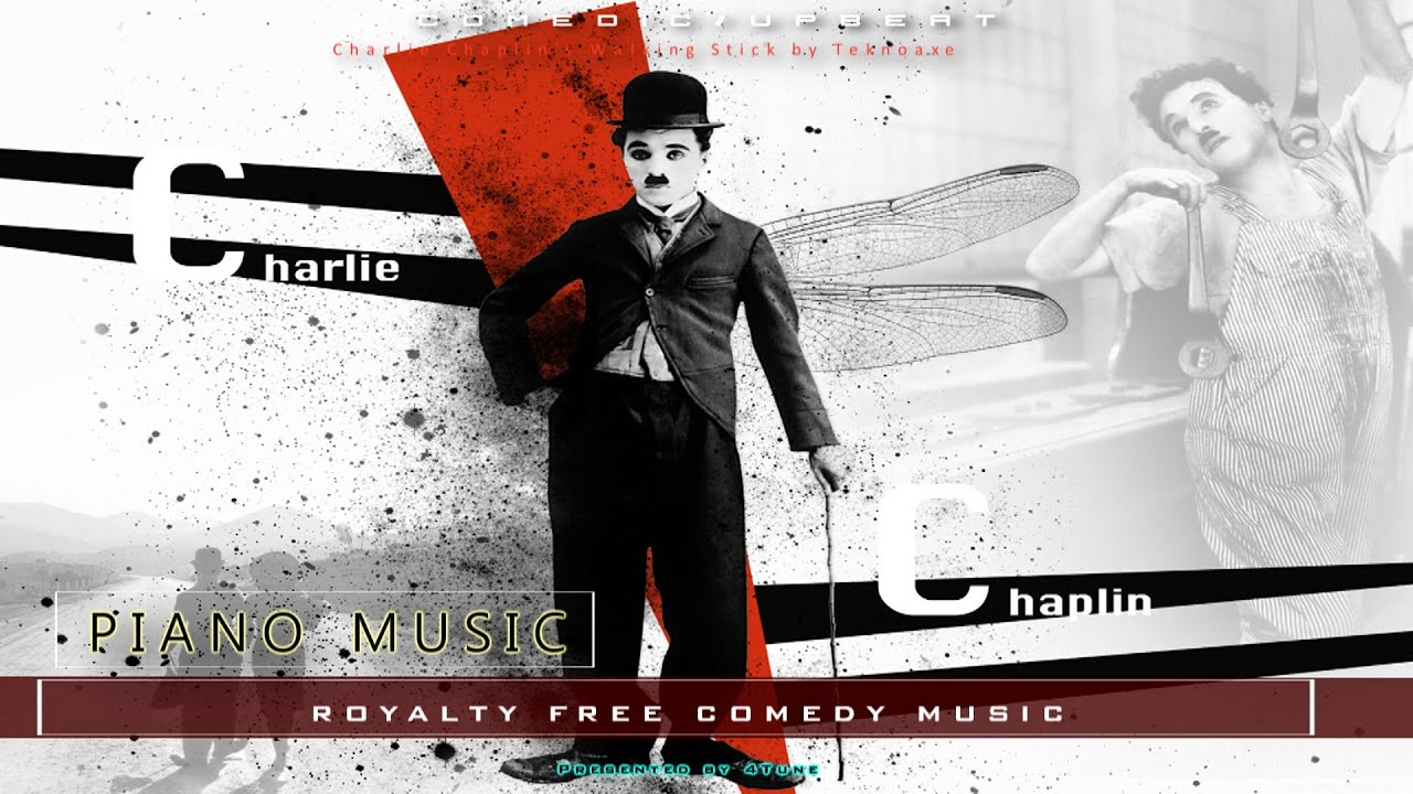 Upbeat Piano Comedy Music | Charlie Chaplin's Walking Stick by Teknoaxe | Royalty Free Music