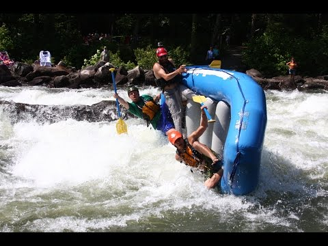 2015 WHITEWATER RAFTING CARNAGE VIDEO on Ocoee, Gauley, Yough Rivers, and more
