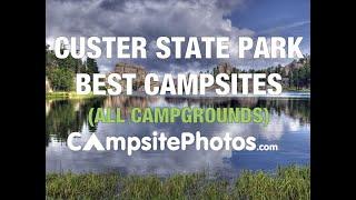 Custer State Park Bęst Campsites, South Dakota