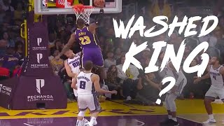 """Download LeBron James' Best Career Highlights as a Laker! """"WASHED KING"""": 2018 & 2019 Seasons Best Plays Mp3 and Videos"""