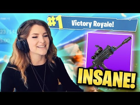 THE SCOPED AR IS INSANE! (Fornite: Battle Royale) | KittyPlays