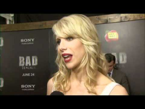Lucy Punch at the premiere of BAD TEACHER
