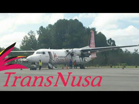 TRANSNUSA| Flight report makassar-toraja,foker 50