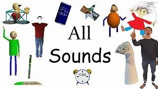All Sounds | Gamefiles Decompiled (v1.3) | Baldi